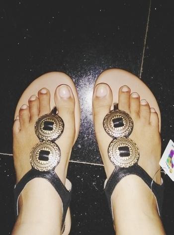 #mochishoesin #mochi #lovingthis #firstever #ethnic  #elegantandsexy #footwear #shoppingonline #footwear-myntra #myntraonlineshopping #myntraindia