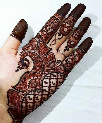 #mehendi #henna #weddding #wedding-bride #latest-mehndi