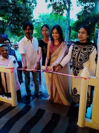 #inauguration  of @tot #brandsudha  #lovroposo #saree #handembroidery #kashmiriembroidery #pornpics