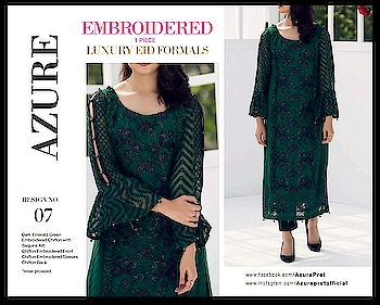 #wowshoppee #exclusivecollection #azure #luxurybrand #pret #embroideredkurti ##wowstuff #chiffon #organza#embroideredkurti #wowstuff #wowmoments #stylishkurti #classystyle #  watsapp @7869677637 or7974527632 fr queries n orders....