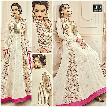 Buy Now @ https://goo.gl/GB1uTR  Auspicious Off White Color Silk Designer Anarkali Suit  Fabric- Silk  Product No 👉 VJV-KESA7008  @ www.vjvfashions.com  #dress #dresses #bollywoodfashion #celebrity #fashions #fashion #indianwedding #wedding #salwarsuit #salwarkameez #indian #ethnics #clothes #clothing #india #bride #beautiful #shopping #onlineshop #trends #cultures #bollywood #anarkali #anarkalisuit #beauty #shopaholic #instagood #pretty #vjvfashions