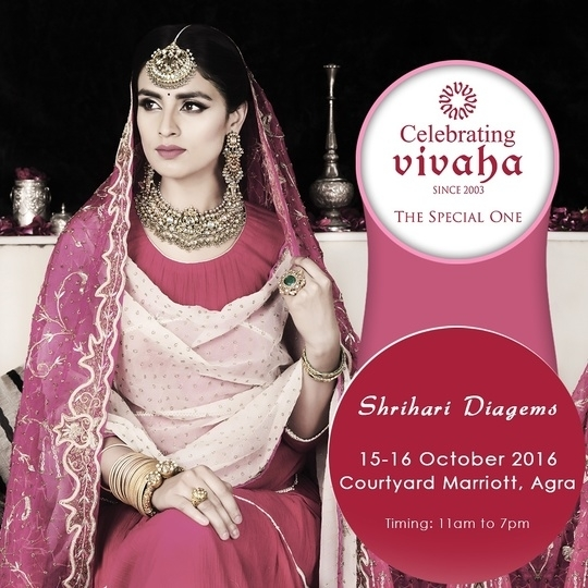 Opens Today !!!!!  Celebrating Vivaha Exclusively Showcasing #ShriHariDiagems Latest  Collection.  Explore the #latestcollection by your favorite designers on 15th - 16th  October 2016 at Courtyard Marriott Agra. It is the most awaited Asia's  biggest and most luxurious Wedding Exhibition in #Agra.  For Queries Visit at : http://www.vivahaexb.com/wedding-exhibition-agra/  or Contact: 09811923456  #CelebratingVivaha #Jewellery #Designer #Fashion #Expo #WeddingExpo  #Events #CourtyardMarriottAgra #Vivaha #IndianWeddingJewellery  #FashionJewellry #WeddingSeason #ExhibitionInAgra #Hotel #Lifestyle  #FashionJewellery
