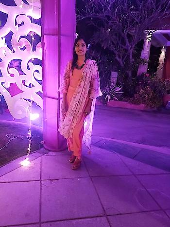 #indowesternlook #peachlove #natural-hair #seasonstyle #roposostyle  sudha Jain @sudhajain02