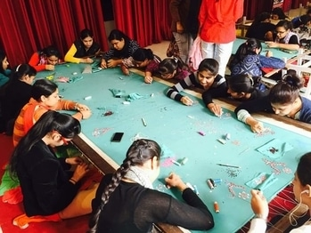 Wow. Such as amazing experience At hand embroidery workshop organised by  Eifd Panipat