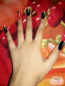 red is cool😙    black is also cool😘  the mixture makes it more cool😚