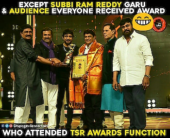 #tsrawards #subbi #awardsnight #awarded #subbiramireddy #reddyikkadasoodu #tsrawards #tsr
