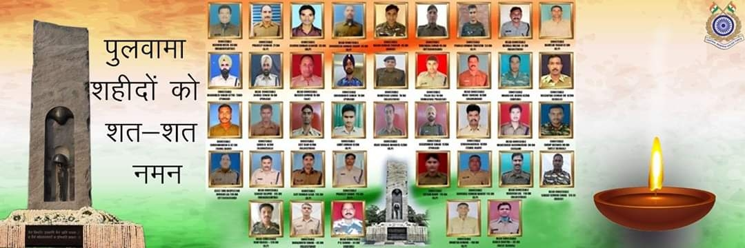 On the day of love, remembering those who showed a greater love for their country...our #BharatKeVeer. Your sacrifice will always be remembered. My salute to the martyrs of #PulwamaAttack 🙏🏻 We did not forget, we did not forgive.