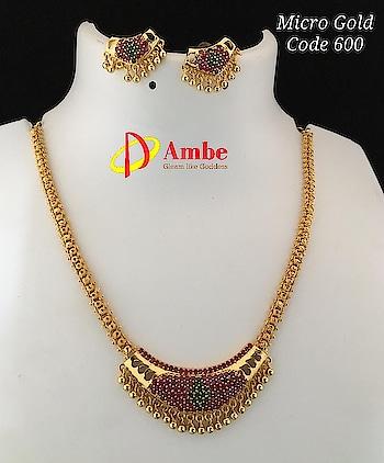 Gold finish elegant jewelry @700 Inr