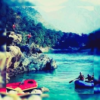Beautiful Rishikesh.... #waterfall  #rafting ..🍻🍺🍹🏺⛵🚣🚤⛈🌊📷📸🎬