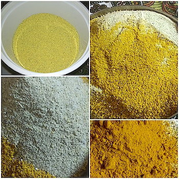 whitening refreshing 🍊 body scrub... dry orange peel powder+green gram powder+haldi+besan. #diy #bodyscrub #homemade #skinwhitening #refreshing