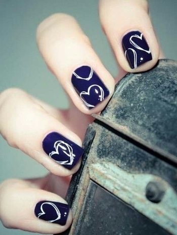#nailsoftheday #nailartwow #heartshape 💅💅👰