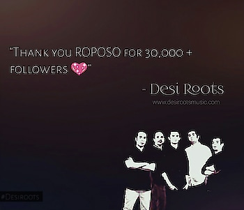 Keep the Love going for your favorite band!! Big shout out to all our friends out there! #Desiroots #Music#Gig #Band #Life #Beats  #Roposo#roposomen #delhi #men #Desi #Roots