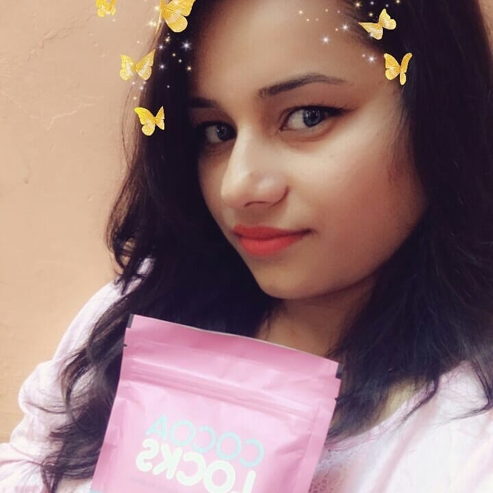 @cocoalocksofficial highly recommended who want long shine healthy hair, I just love drink my magic🎉🌌🍫 chocolate hair shake from #chocoalocks, my hair is growing very fast, I am very happy with the results, must try guys am sure you love it. ☕☕please visit the website to get full details www.cocoalocks.com #oceancoste #followforfollow#like4like #instagood#instagram#ootb#photography #swag#beauty #blogger #plixxo#love #happy #delhiblogger#delhi #swag#snapchat #shakeshack #chocolate #pink #ilovemyhair  #ropo-style #ropo-styles #roposobloggernetwork#roposofashionblogger