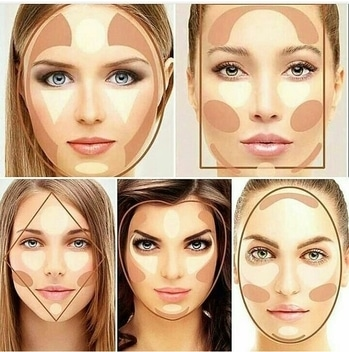 #contour #whichoneyouprefer #facebeauty