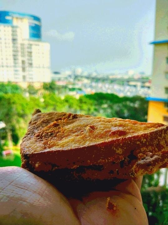 Bread Pakora in Gurgaon 😊👌!!  .  #Rohanicles #breadpakore