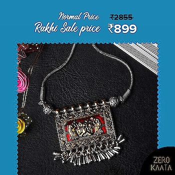 "🌷🌷Jewellery Sale : 🌷🌷 . ------------------------------------------------ FLAT 50% OFF AND 30% USING CODE "" RAKHI30"". ------------------------------------------------ . . Celebrate The Festival Of Bond With Our Unique Designs. . What are you waiting for.?? . Go to www.zerokaata.com before your favourite designs get sold out . . #rakhisale #rakhisale2017 #rakhisale2018 #rakhabandhan #rakshabandhan2017 #rakshabandhanspecial #jewellery #jewelry #rakshabandhan🎁🎁❤️❤️ #rakshabandhangifts #rakshabandhancelebrations #rakshabandhan😍 #fashionblogger #jewelrystore #jewelry #OnlineShopping #shopping #accessories #indianjewellery #jewellerysale"