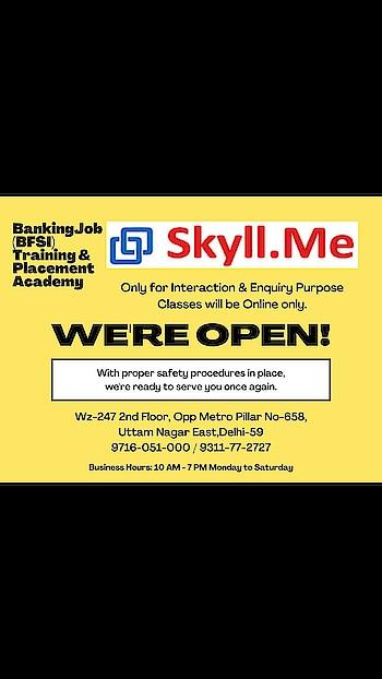 #bankingjobs #enrollnowpaylater #graduates #bfsi #training #placement #guaranteed