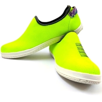 These are Xedo brand shoes.which are very comfortable, good looking and stylish sneaker in neon colour. These shoes sole is made up of PU material.