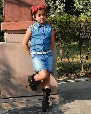 In quietness and confidence shall be you strength. . . Dress @tinygirl_India Boots @myntra . . #lucknowbloggers  #fashionblogger  #fashionaddict #lucknowfashionbloggers  #indianblogger #instakids #cutebaby #lovelybaby  #fashioninfluencer  #lucknowdiaries  #uttarpradesh #kidsfashion #indianfashionblogger #little_supermodel #cutekids  #kidsofinstagram #kidsmodelworld  #modelagency #the_city_blogger