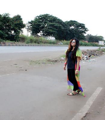 Indowestern look for navratri#Dushera#stylish #fabulous #fashion #fashionable #stylishwear#highlights #boots#keepitstylish#myfashionconfession#fashionstylist#fashionblogger#puneblogger #pune#punefashion#PFWstyle#ethnic#desi#indowestern#indian wear#skirt#lehanga#black#blackdress#navratri#navratrilook#multicolour#cape#capestyle#capedress